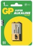 Baterii alcaline 9V GP