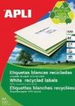 Etichete autoadezive din hartie reciclata Apli