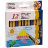 Creioane colorate cerate Color Plus MoLin