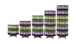 Coloana rotativa pentru bibliorafturi