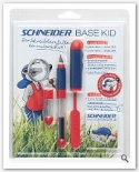 Schneider Stilou Base kid+dreptaci rosu (blister)