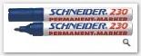 Marker permanent Schneider 230